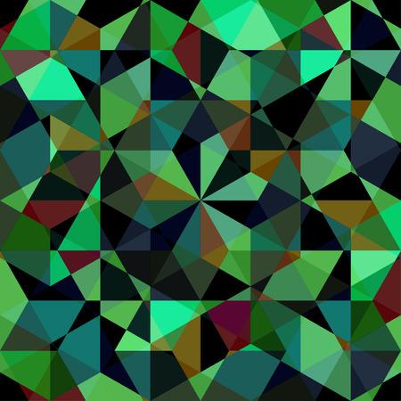 Illustration seamless geometric pattern. Illustration