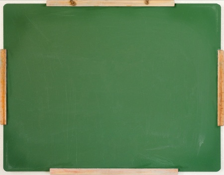 close up of an empty chalk board Stock Photo - 8952229