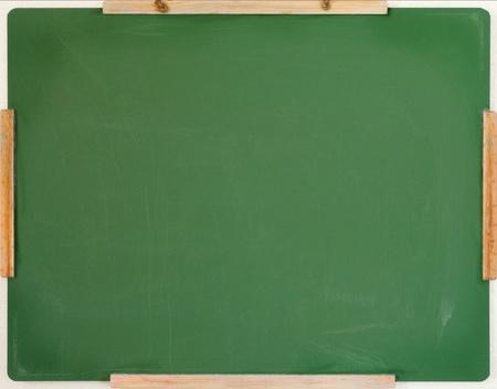 planche: pr?s d'un tableau ? craie vide