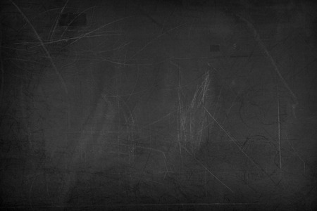 blank chalkboard: Black blank chalkboard or blackboard for background