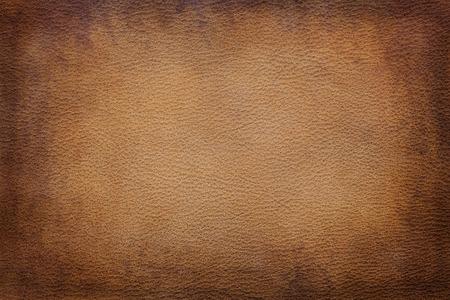 textura: La vendimia vieja textura de cuero marr�n primer plano se puede utilizar como fondo