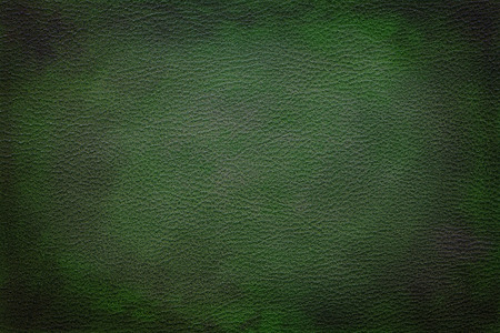 green background texture: Old vintage green leather texture closeup can be used as background