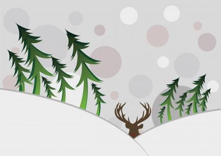 snowbank: Winter Card