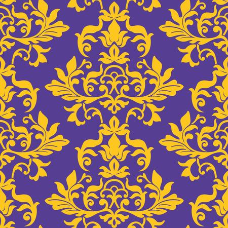 damask wallpaper: seamless damask wallpaper pattern