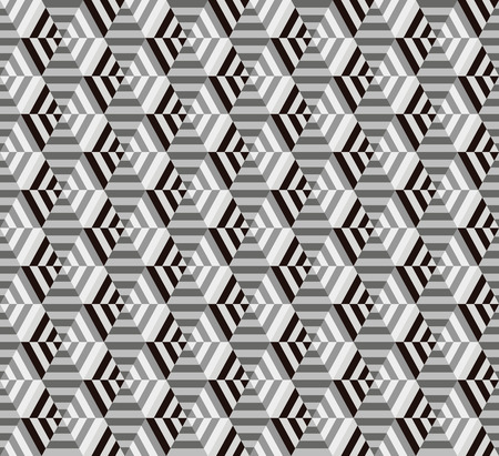 seamless geometrical hexagon pattern 일러스트