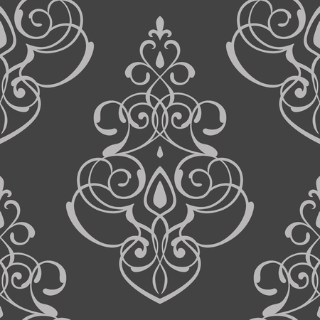 seamless pattern damask ornament