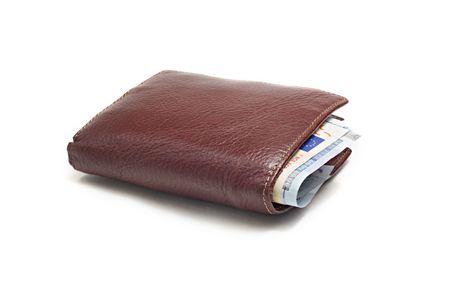 Stuffed Leather Wallet  photo