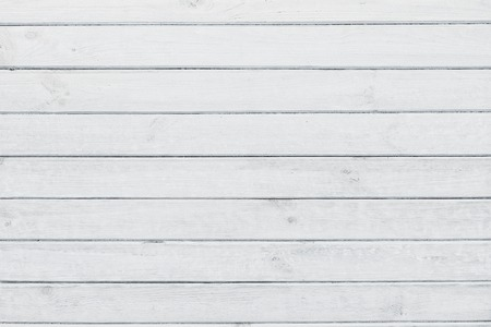 White washed wooden planks, wood texture Archivio Fotografico