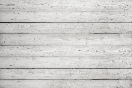 White wooden boards with texture as background. White planks