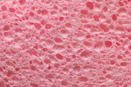 pink sponge texture background