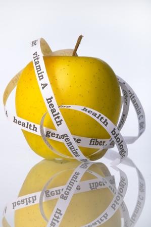 yellow genuine Apple Stock Photo - 8897713