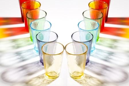 murano: colorful murano glasses Stock Photo