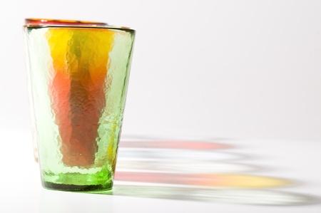 colorful murano glasses photo