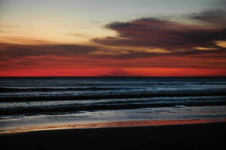 Sunset in Playa Santa Teresa peninsula de Nicoya Costa Rica