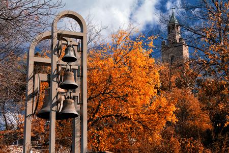 veliko tarnovo: Tzarevetz castle,Veliko Tarnovo,Bulgaria Stock Photo