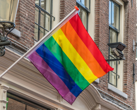Rainbow Flag The Symbol Of Equal Rights For All Genders