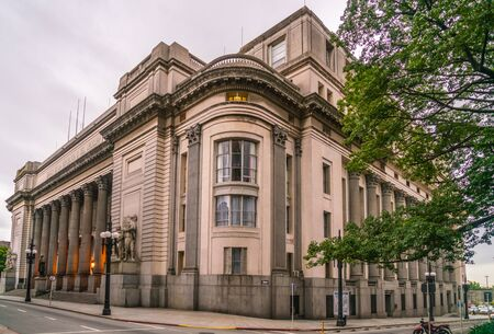The National bank (Banco de la Republica o del Uruguay), Montevideo, Uruguay, January 25th 2019 Editorial
