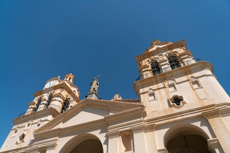 Detail of the Catedral de Cordoba at the Plaza San Martin in the center of town