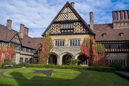Cecilienhof House in Potsdam, Germany