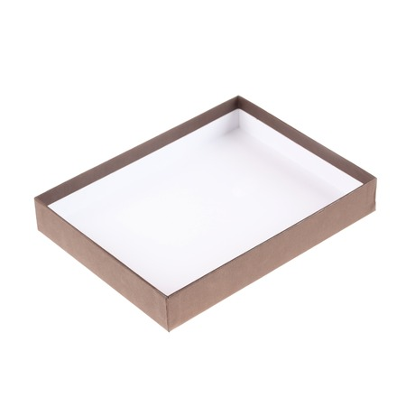 gift packs: box on a white background