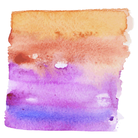 swash: Watercolor Colorful paint background. Vector illustration. Watercolor Vector Background Swash With Gradient