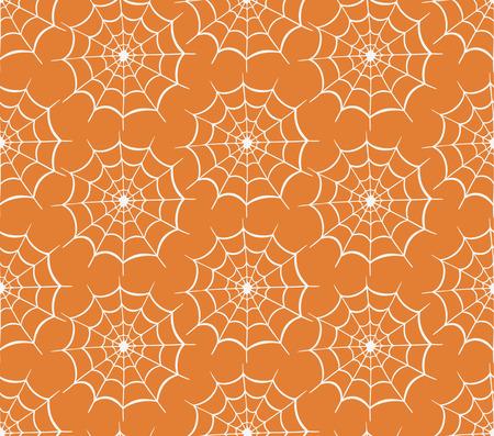 cobwebby: Seamless halloween web  backgrounds. Vector hand-drawn illustration. Seamless pattern of halloween webs
