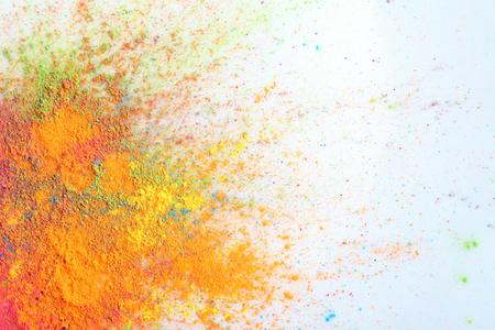 Celebrate festival Holi. Indian Holi festival of colours Standard-Bild