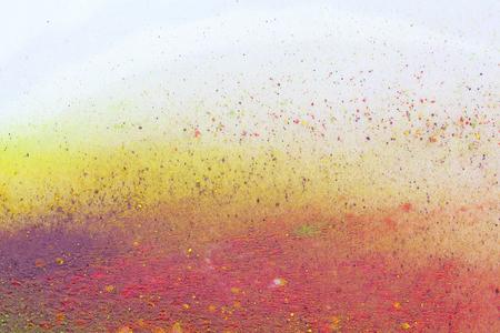 Celebrate festival Holi. Indian Holi festival of colours Stock Photo
