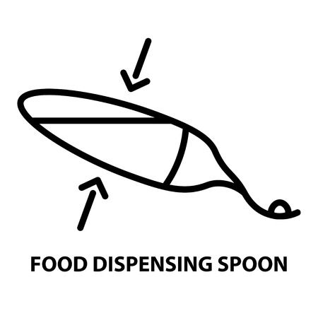 food dispensing spoon