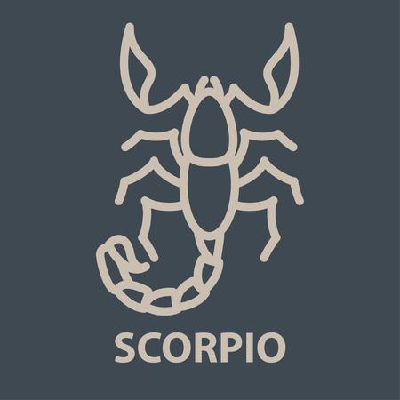 Scorpio logo template