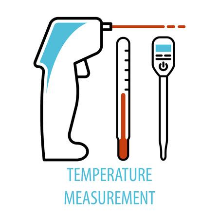 Chemical equipment burners vector illustration