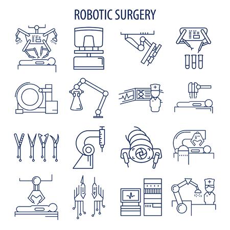 Robotic surgery set