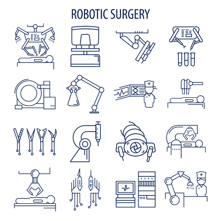 Robotic surgery set