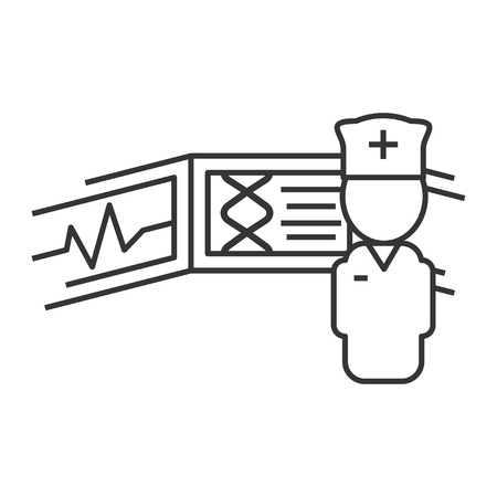 Quipment for Robotic surgery Illustration
