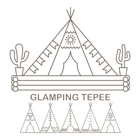Tepee in linear