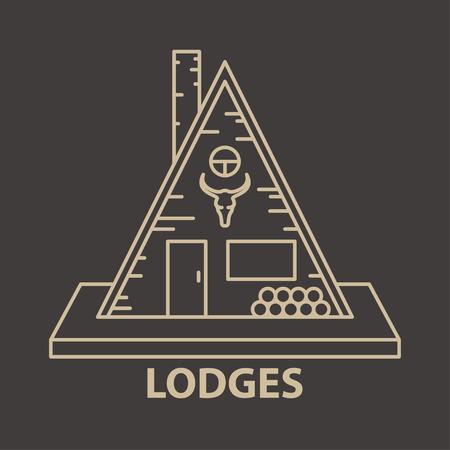 Glamping lodges accomodation