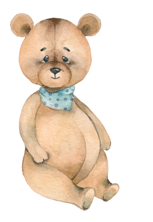 Cartoon lovely Bear toy Banque d'images - 121795512