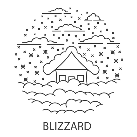 Blizzard Natural Disaster