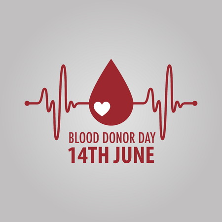 World blood donor day Иллюстрация