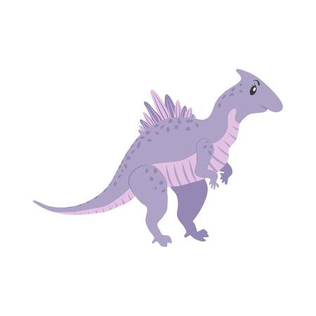 Dinosaur Spinosaurus cartoon Illustration