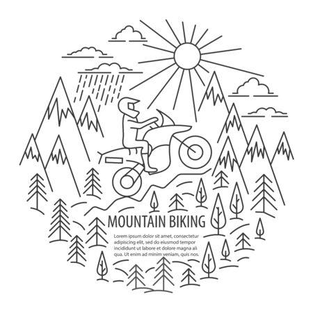 Motorbike tour template