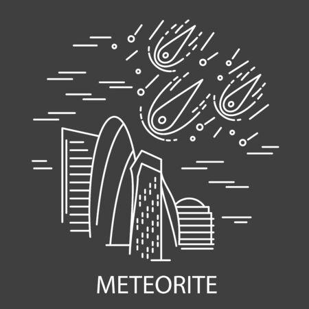 Meteorite Natural Disaster