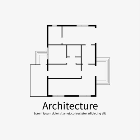 Architectural background template