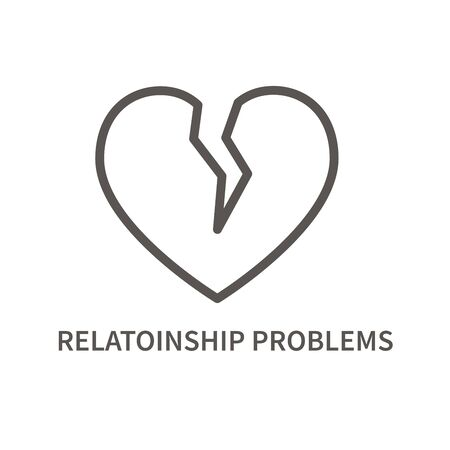 Relationship problem icon