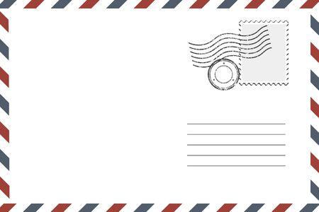 Postage Retro Envelope