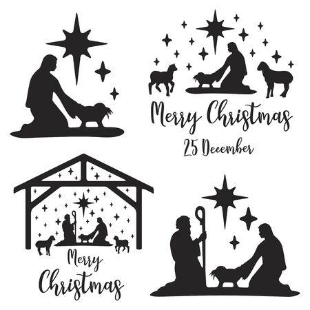 Birth of Christ scene