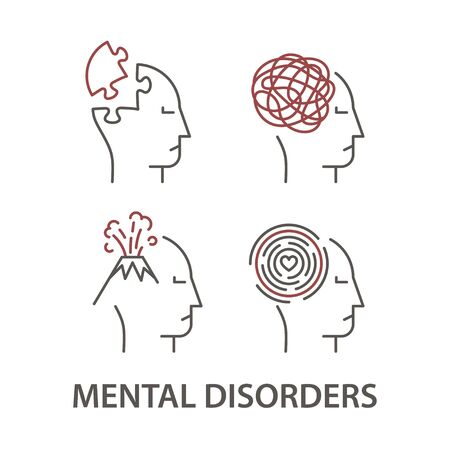 Icons for Mental Disorders