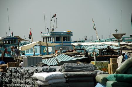 musandam: police boat musandam harbour Editorial