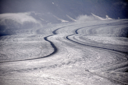 Aletsch glacier photo