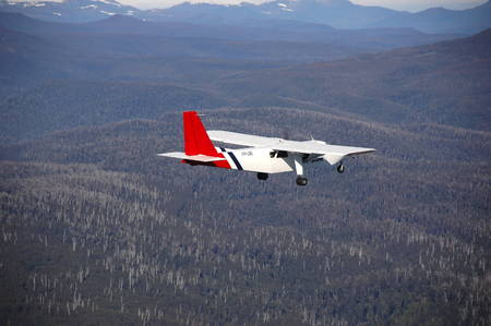 bn: Sur Tasmania vista a�rea Editorial